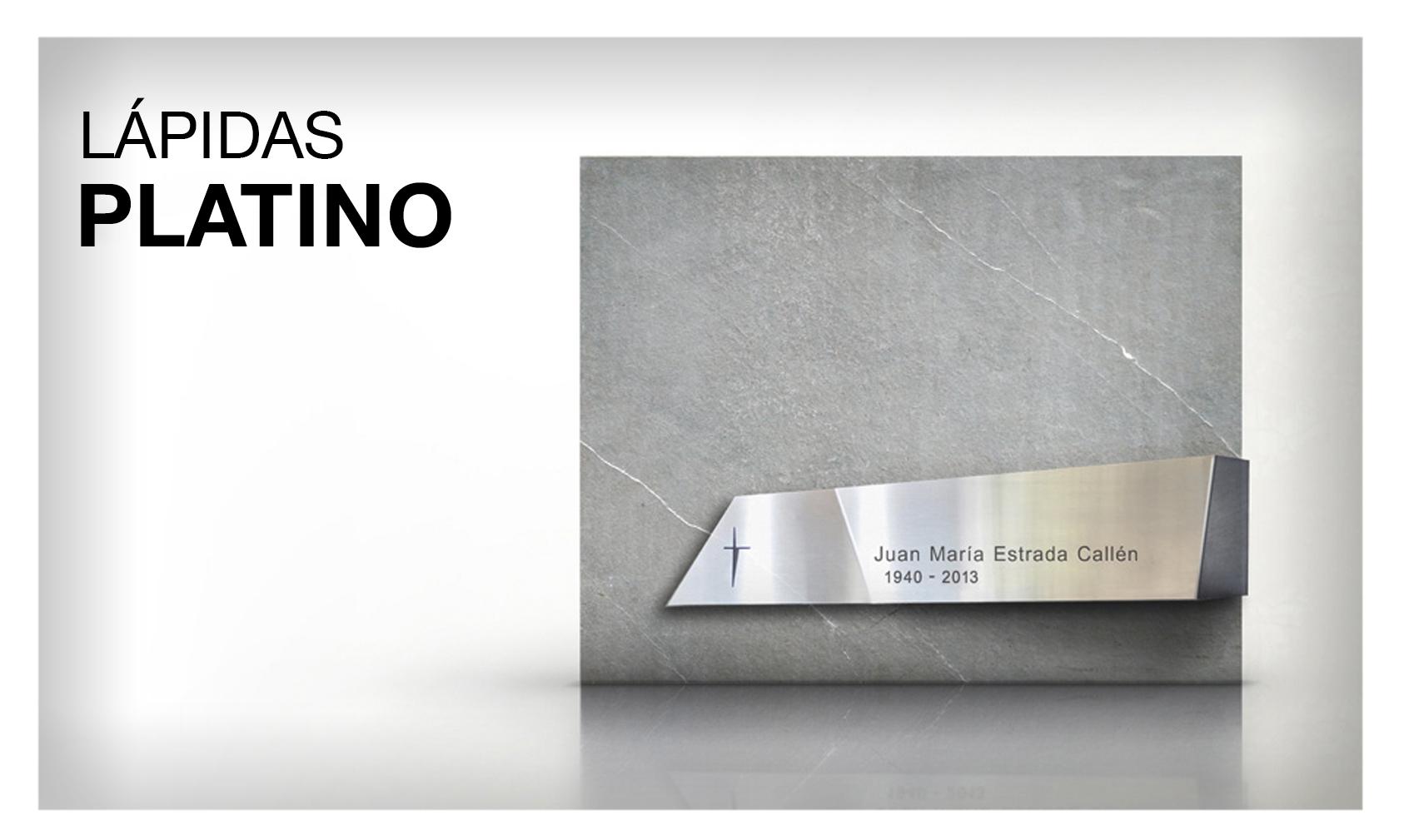 lápidas platino
